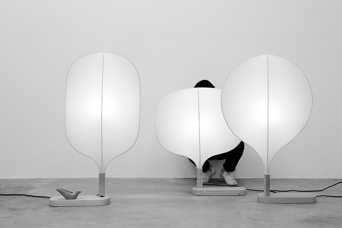 Image may contain: wall and lamp