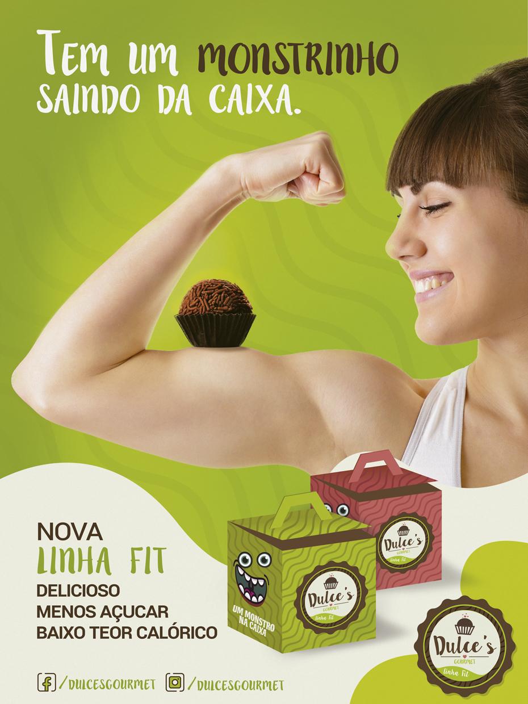 dulces doces marca branding  design Redação FIT