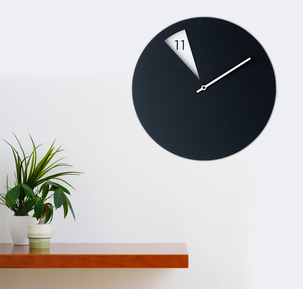 freakishclock wall clock on behance. Black Bedroom Furniture Sets. Home Design Ideas
