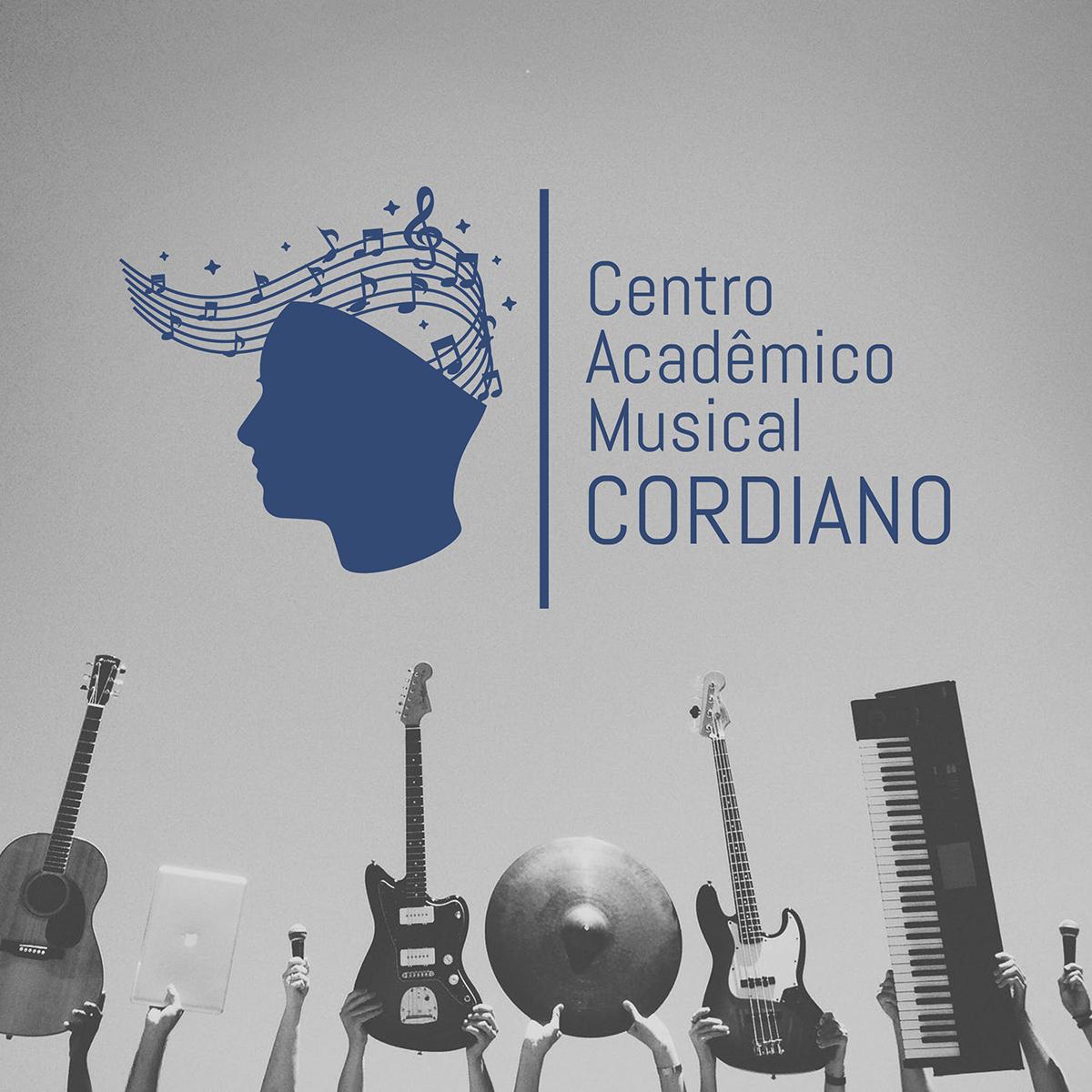 brand branding  escola escola de música ID logo music Musical