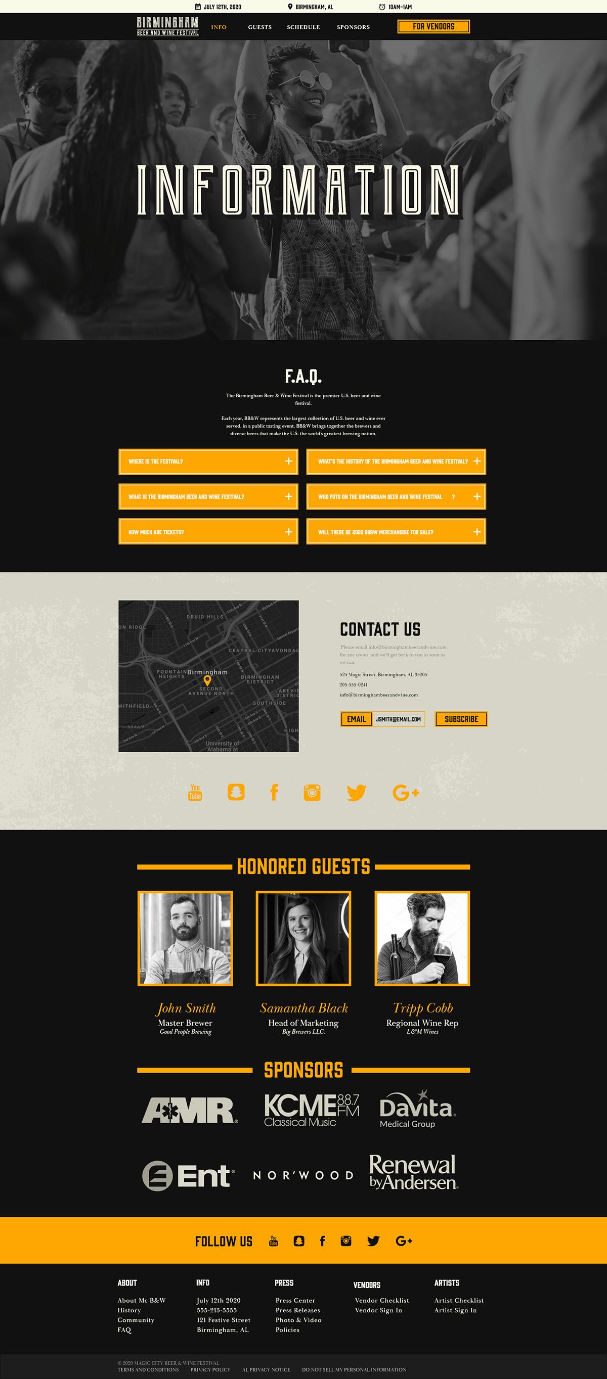 [2020] Full Sail GRDBS marketing   merchandise web-design