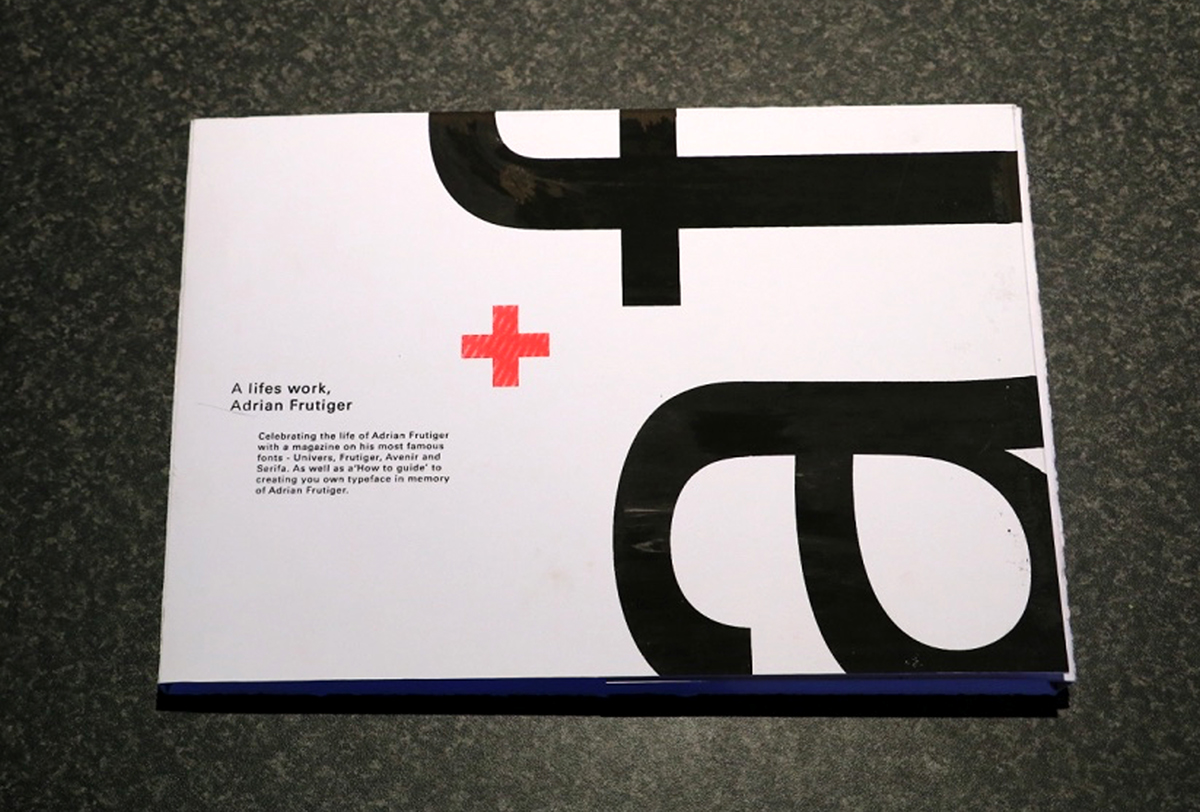 Celebration of the life of Adrian Frutiger on Behance