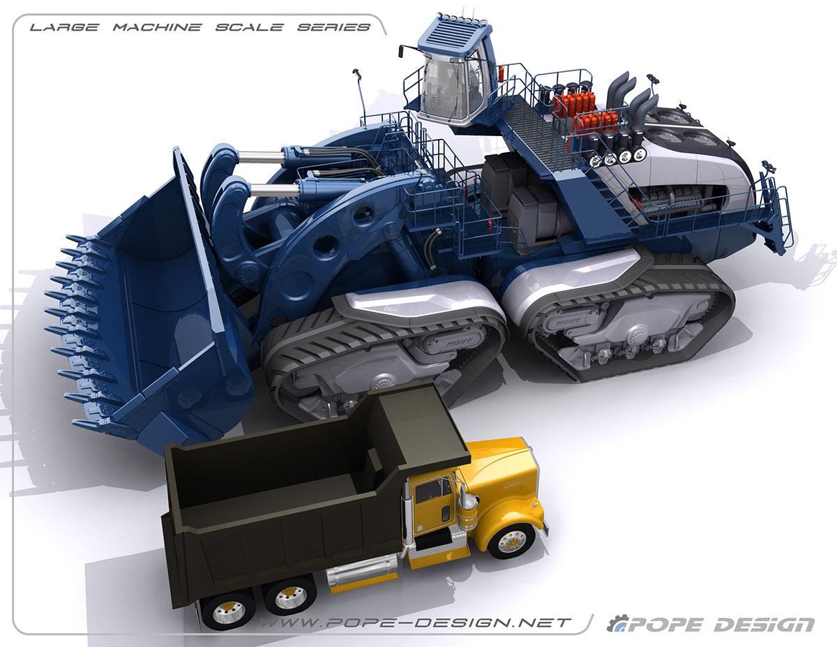 prototipo nuovo dumper minerario avvenieristico B1bf9432532777.568963250c9b9