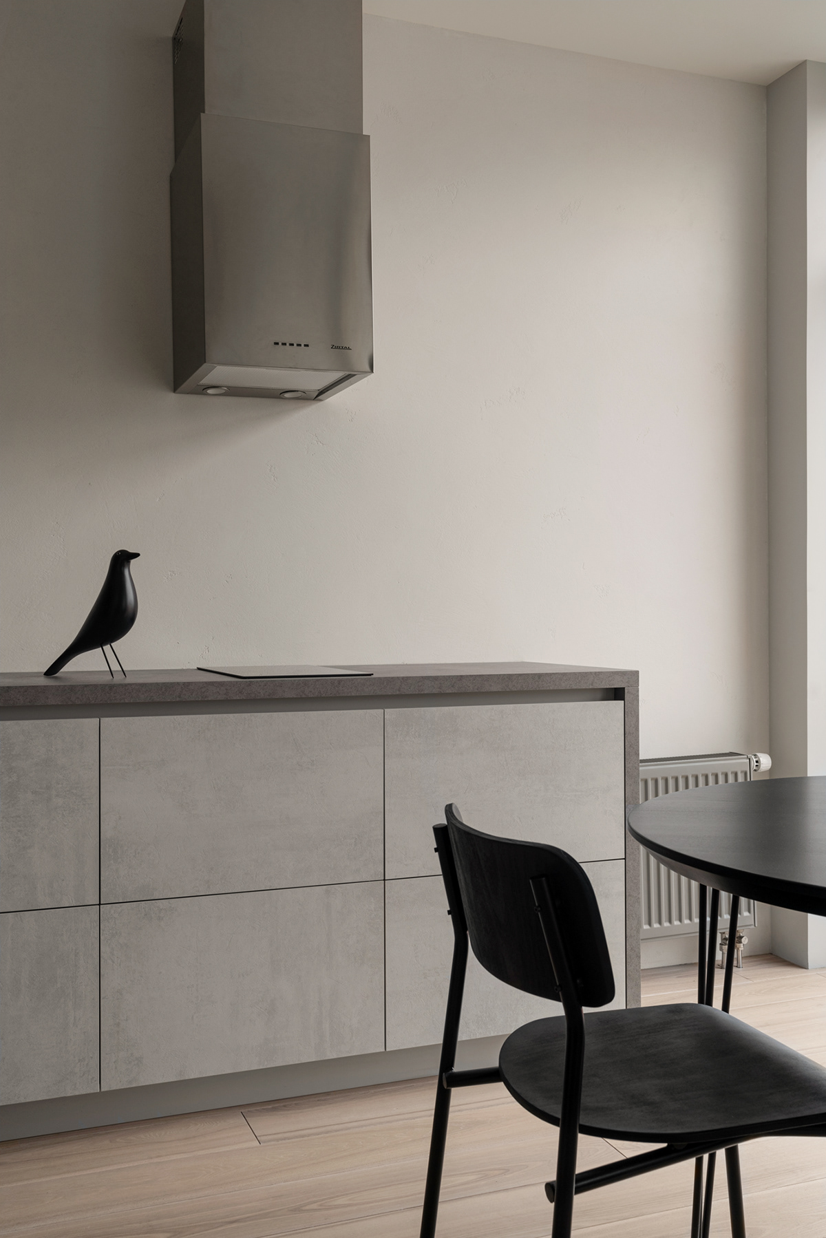 Image may contain: wall, indoor and bird
