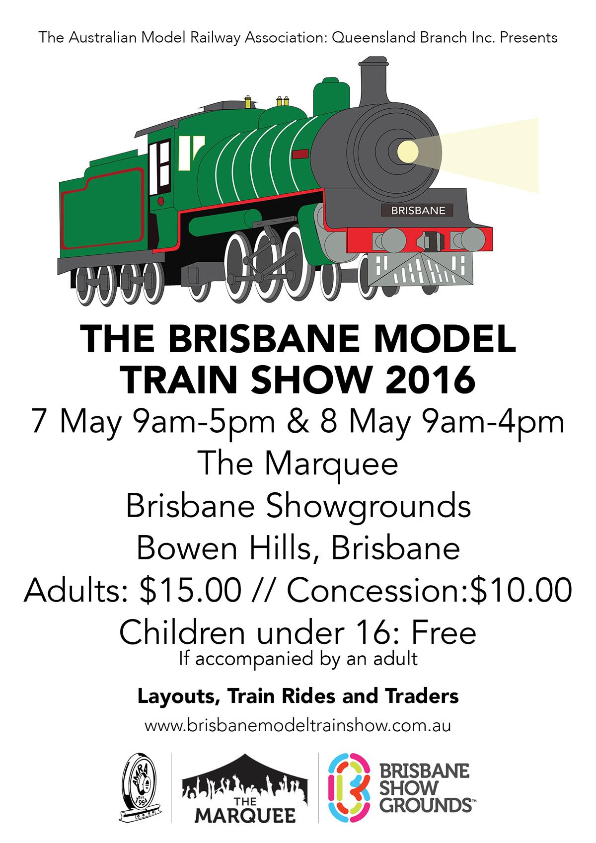 Brisbane Model Train Show 2016 on Behance