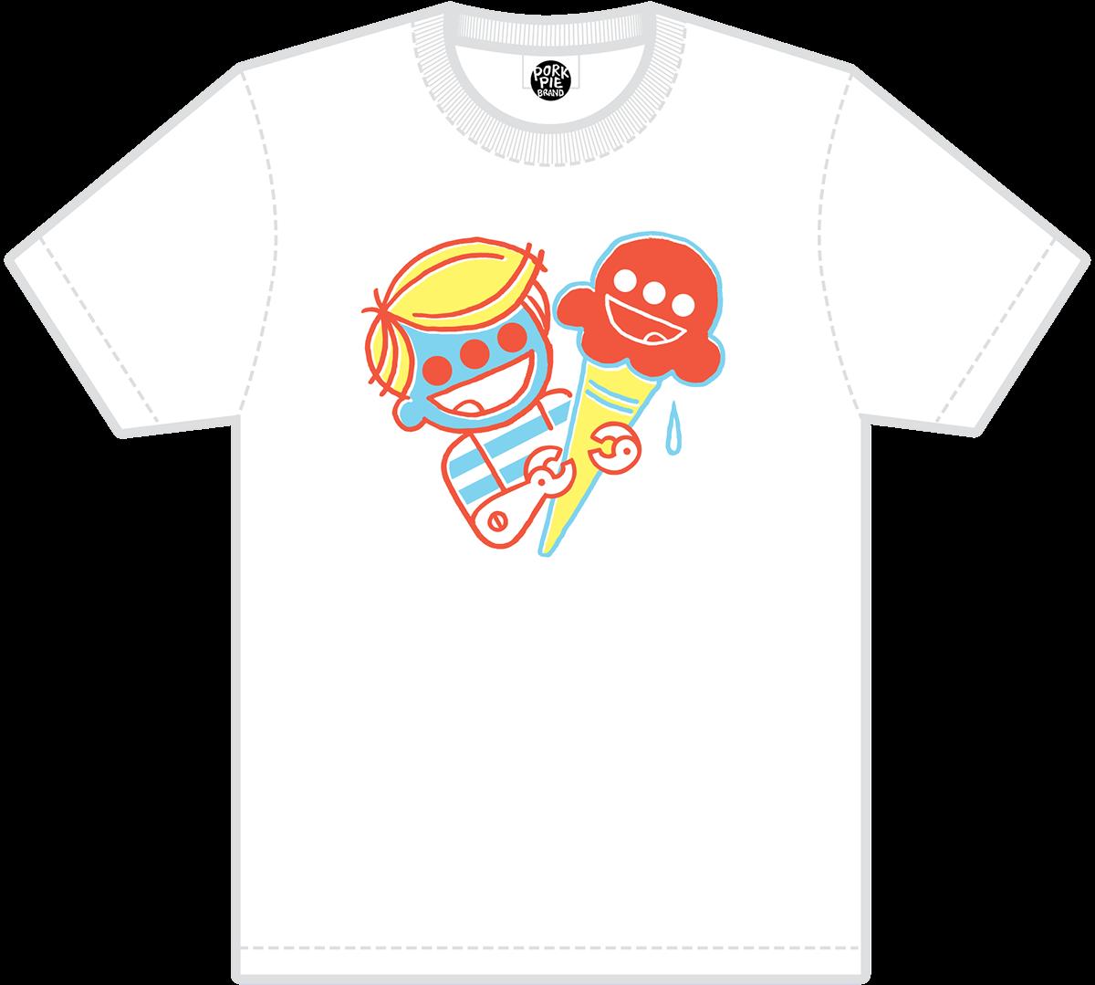 tshirt Clothing garment Retail Candy ice cream robot monster mutant