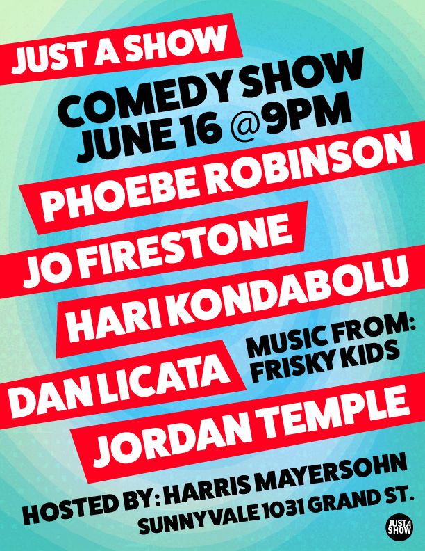 Comedy show poster 5