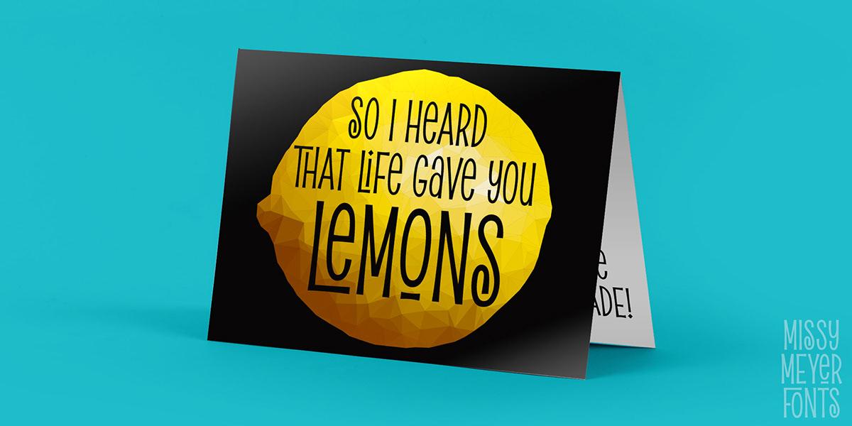 font Hipster pickled limes Retro sans serif single case Typeface unicase