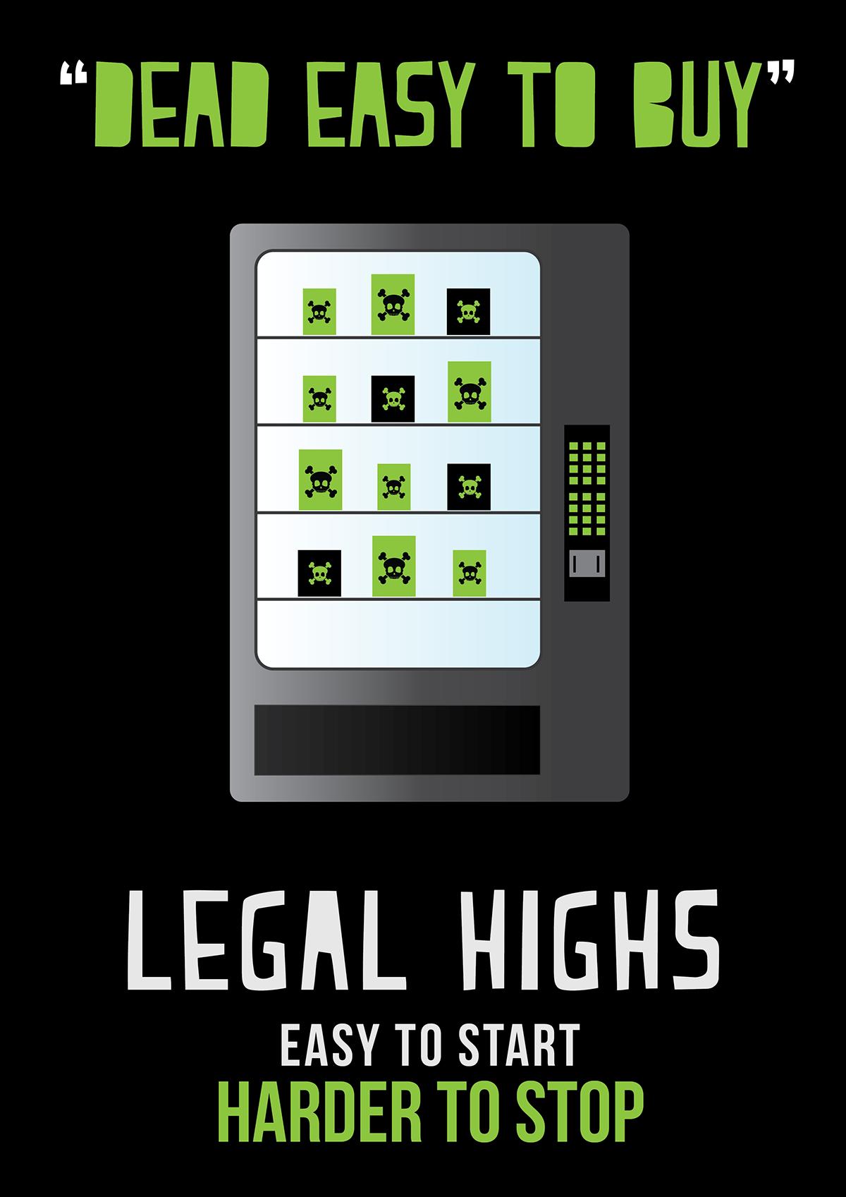 Dangers of Legal Highs Awareness on Behance