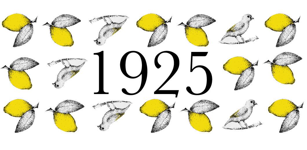 birds pattern lemon Nature stippling stipple yellow dotwork ink