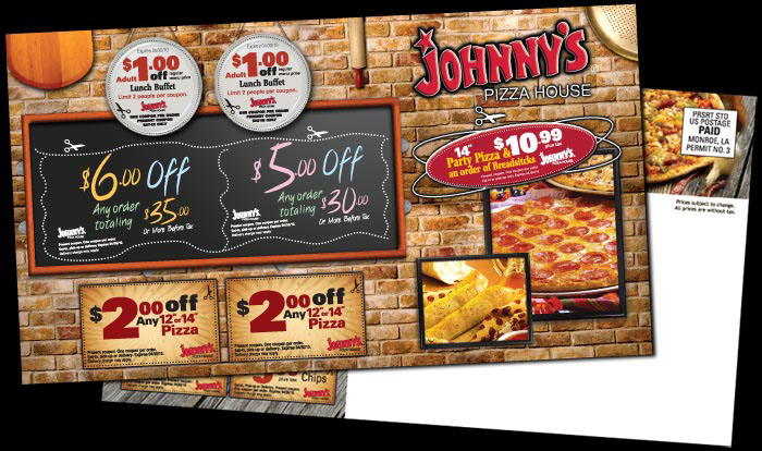 Johnny's pizza coupon code