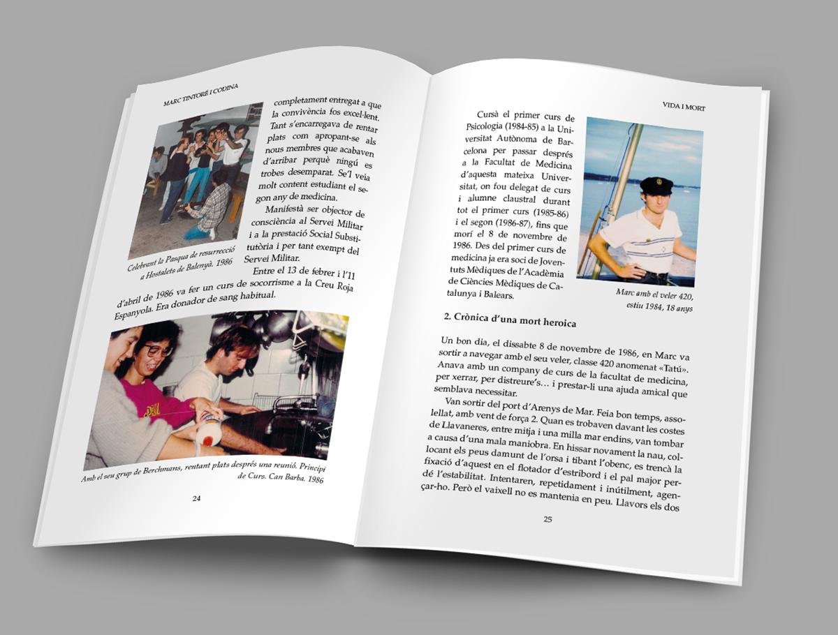 Ejemplo de maquetación de la tripa con fotografías