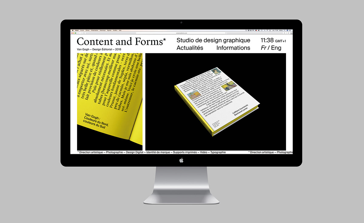 Content And Forms Studio On Behance