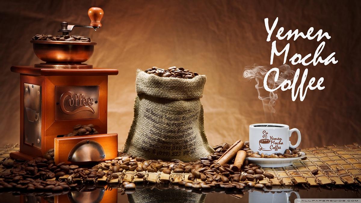 зерна кофе мокка из Йемена