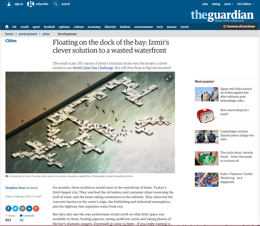 Publications Monocle guardian Financial Times citylab radikal