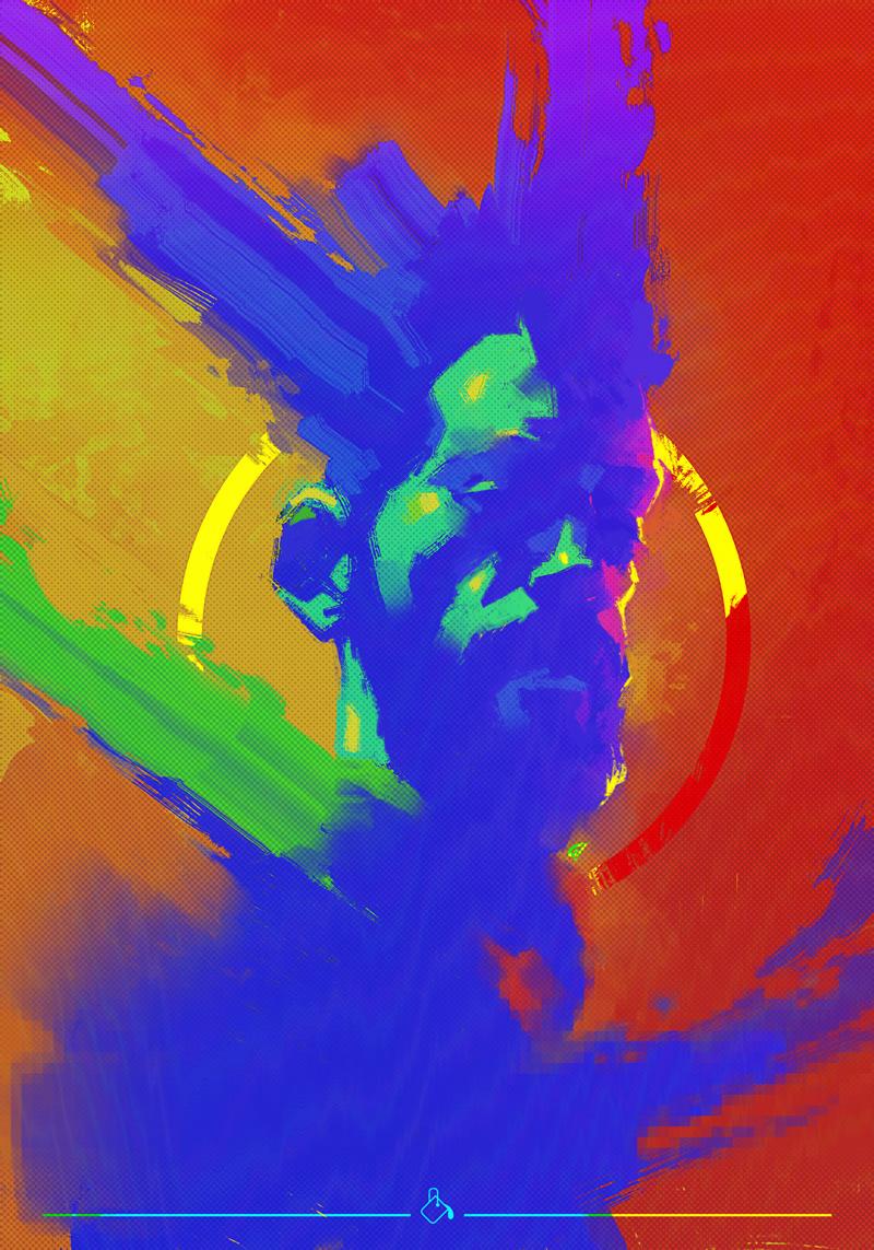 art artist artworks digital egyptian Exhibition  illustrations visuals