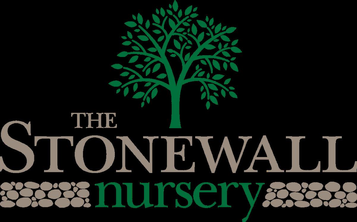 The Stonewall Nursery Logo U2013 Pantone 349 C And PANTONE Warm Gray 9 C Version