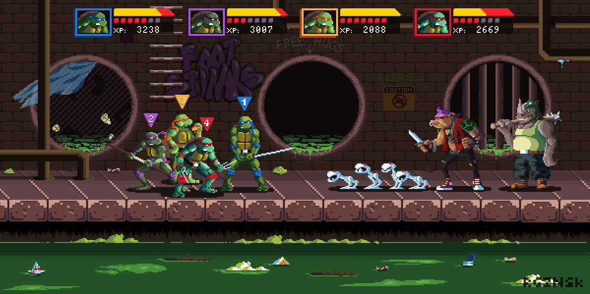 TMNT: The Arcade Game on Behance