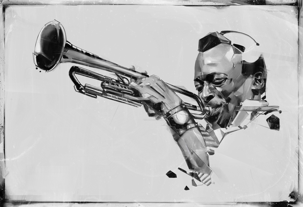 Jazz art on behance