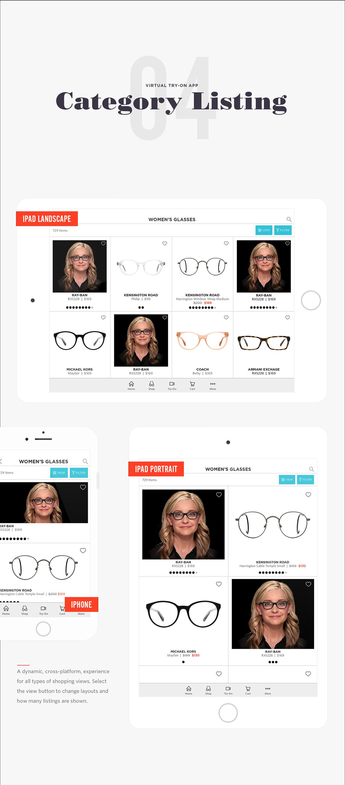 ios,app,virtual try-on,glasses,iphone,iPad