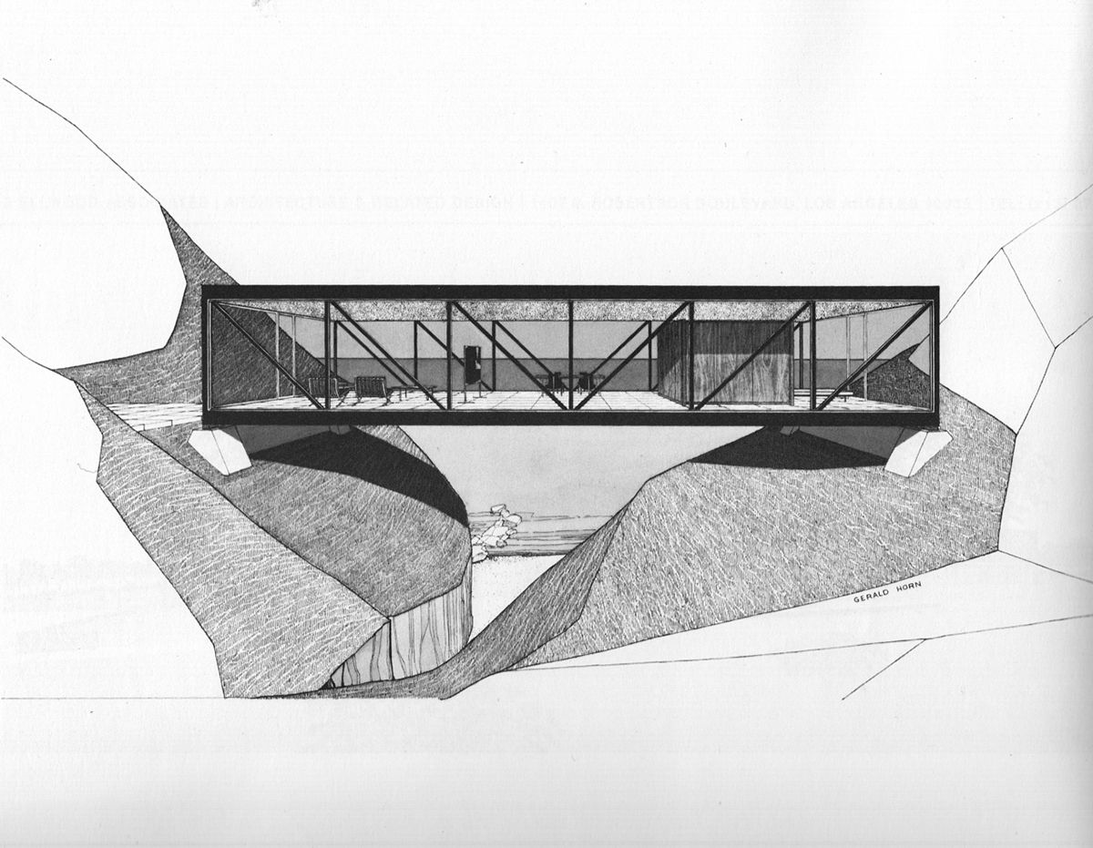 Craig Ellwood Weekend House Project 1964 Unbuilt On
