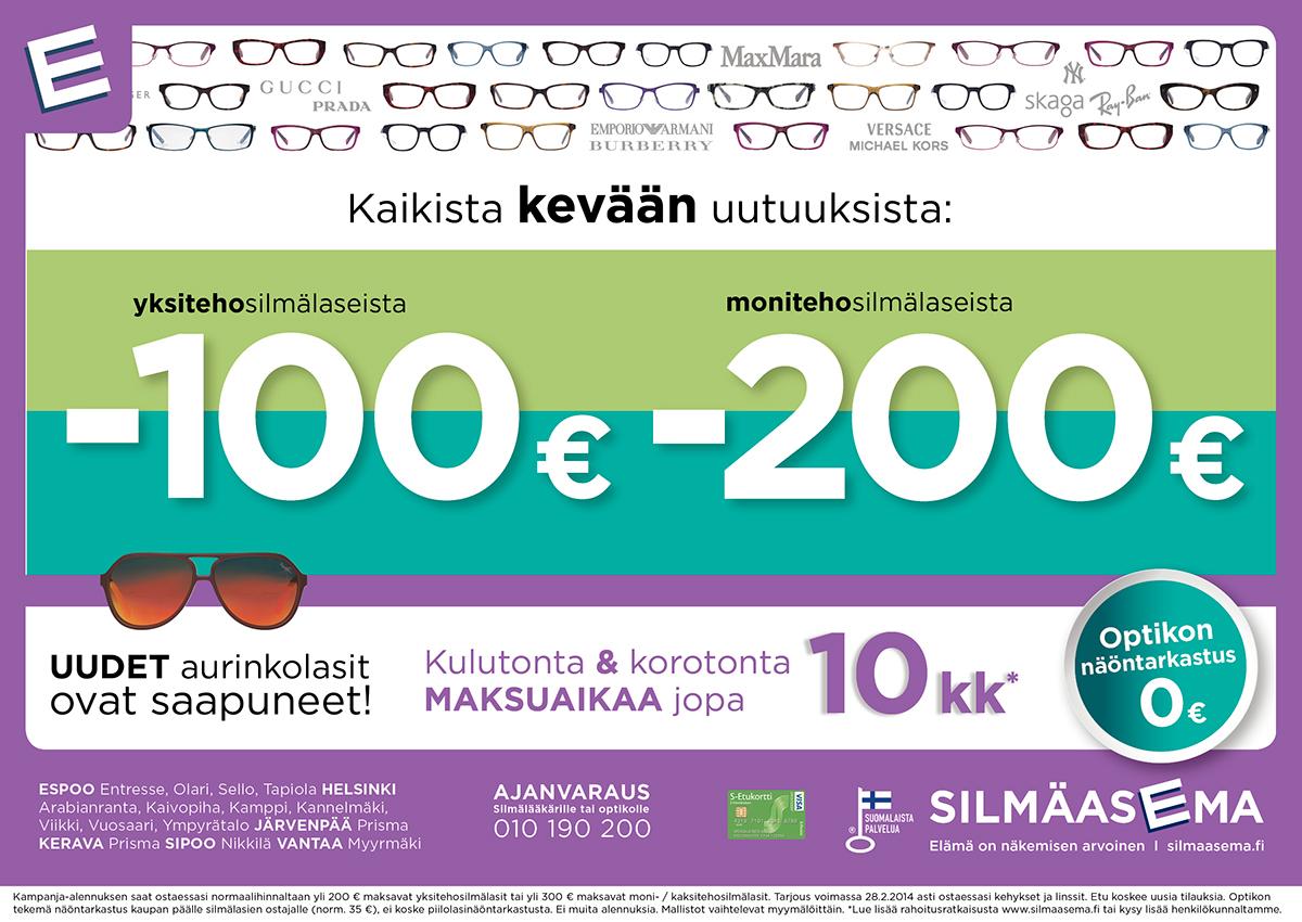 Newspaper ads for Silmäasema on Behance 8c3a0c0f36