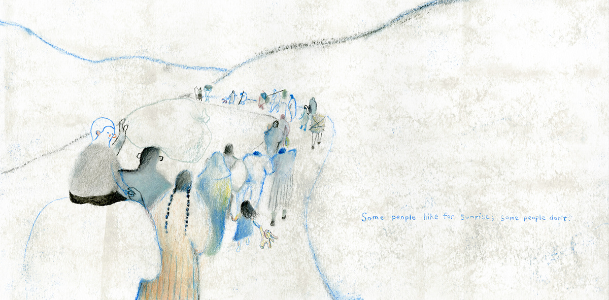 Picture book children's book ILLUSTRATION  Drawing  refugee