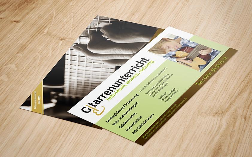 print flyer DIN lang