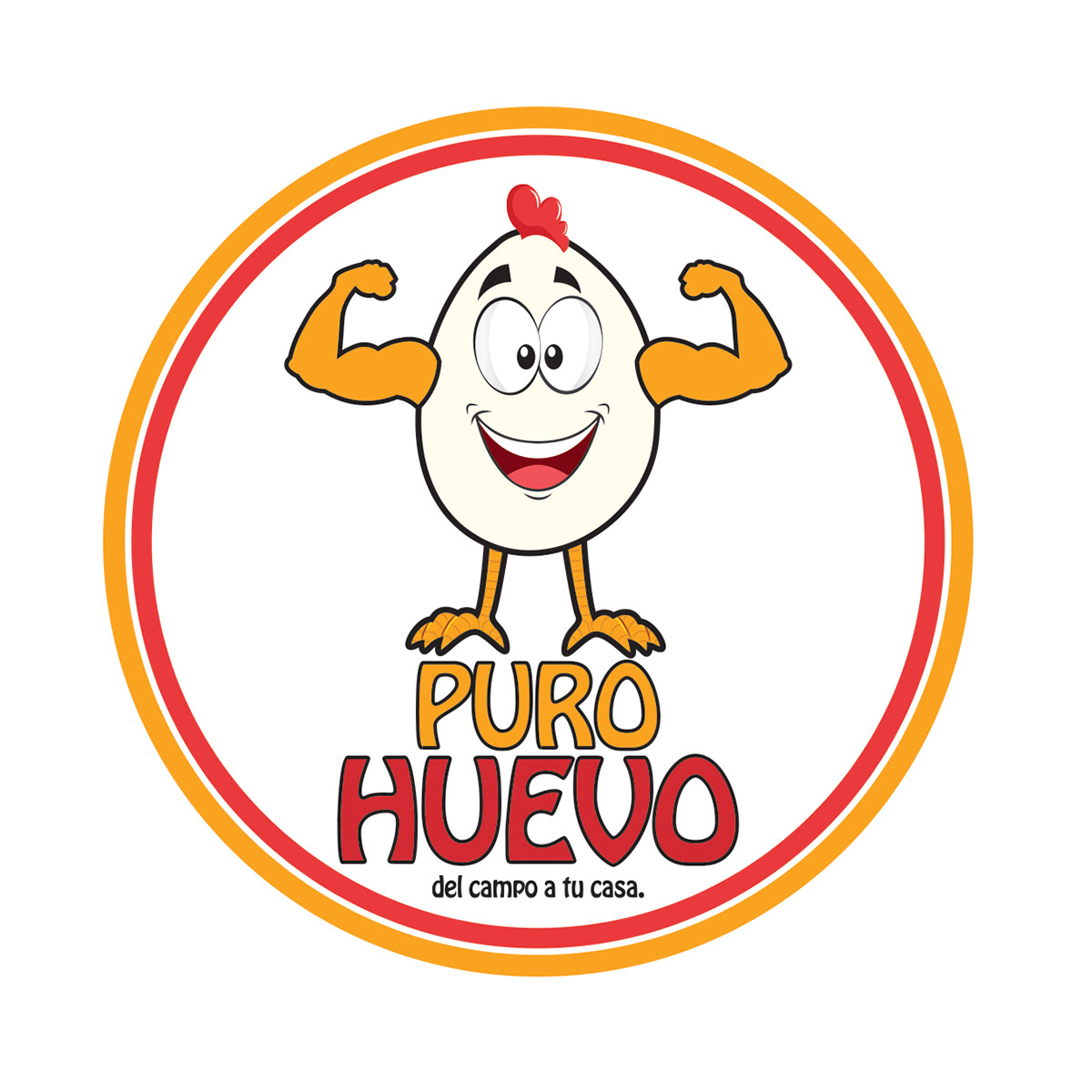 brand huevos logo marca tucuman