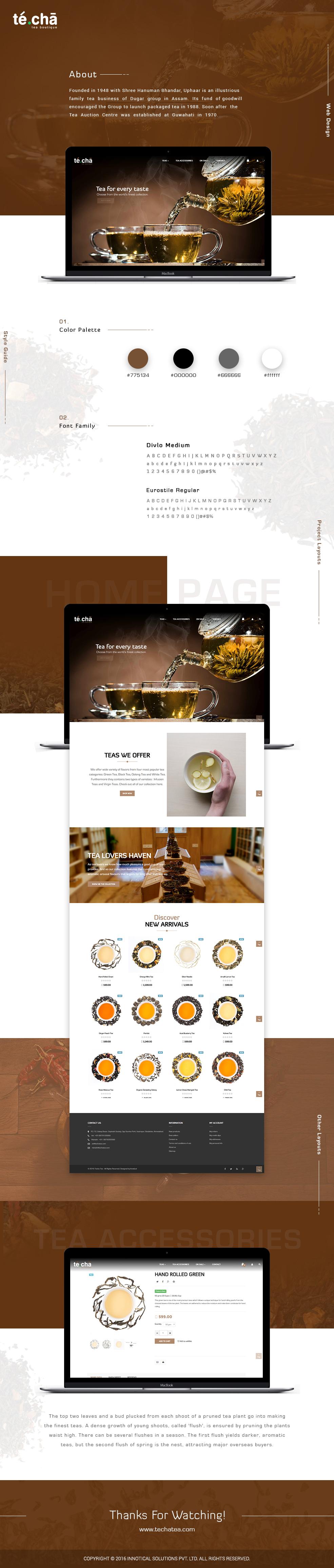 UI/UX Photography  Responsive Ecommerce Web Design