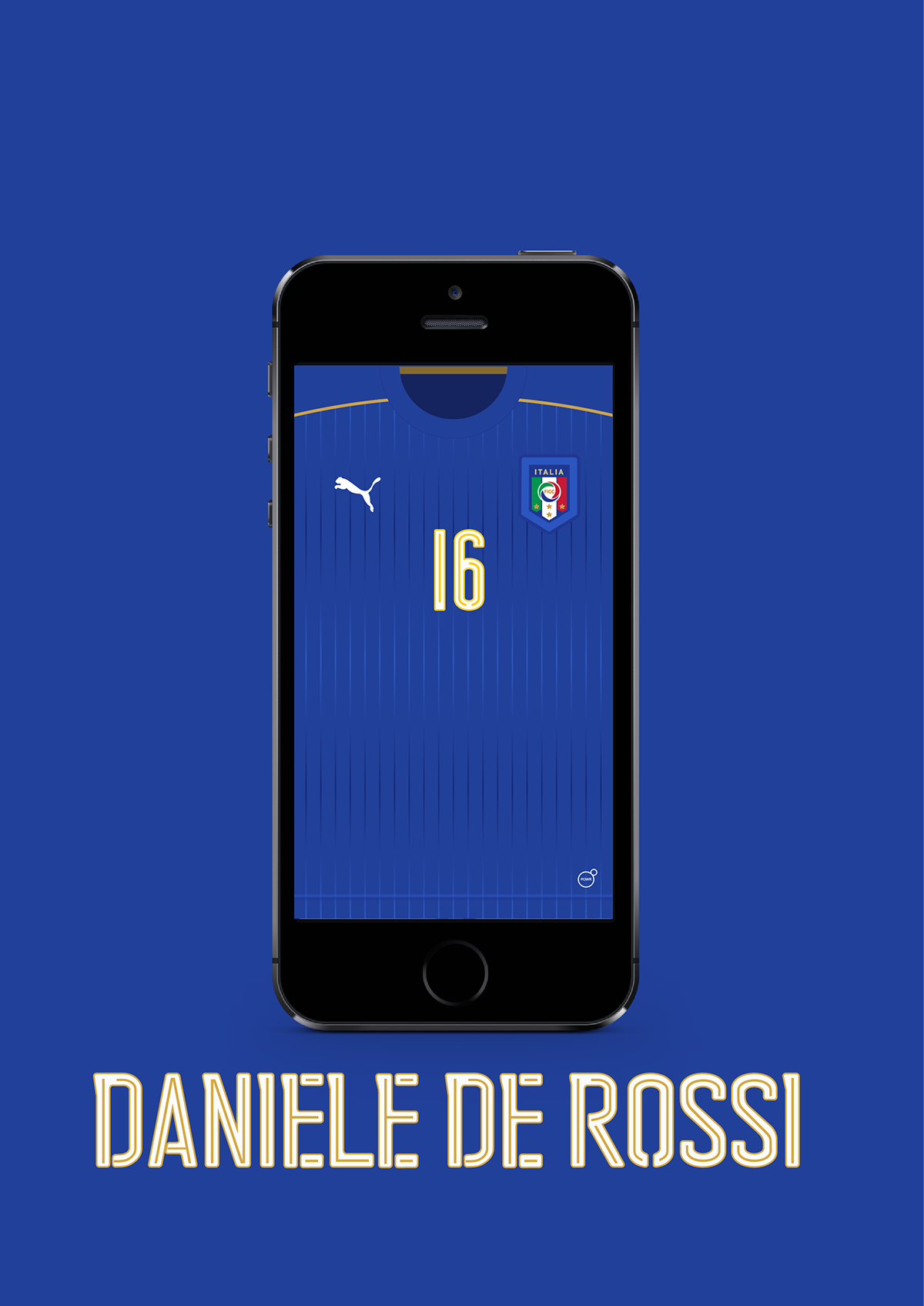 Euro 2016 italy jersey wallpaper on behance you can download the wallpaper here httpsfacebookfactotumlab voltagebd Images