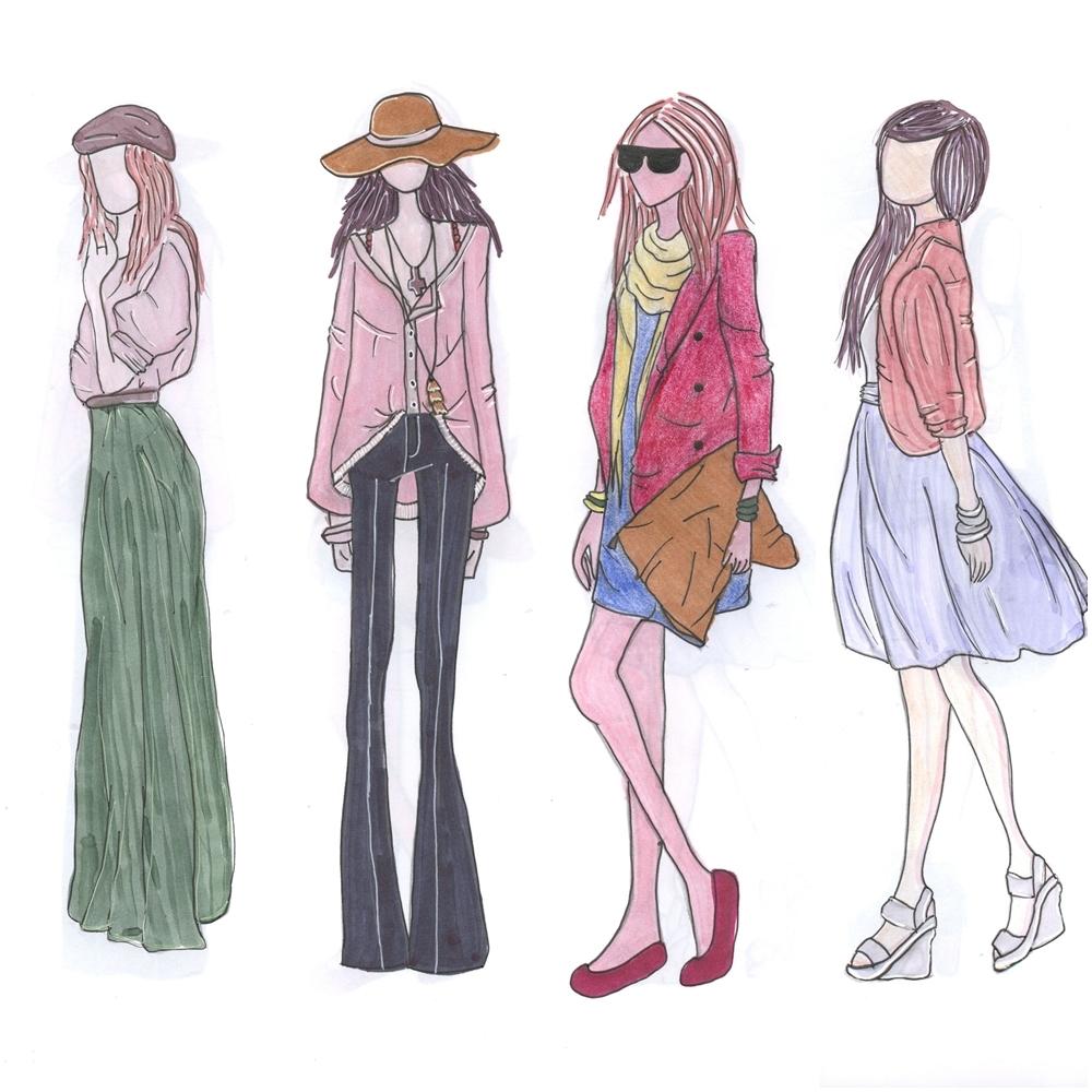 Croquis de Moda
