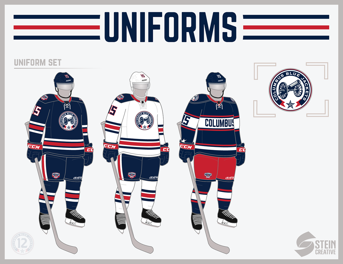 Columbus Blue Jackets: Branding and Identity - Concepts - Chris ...
