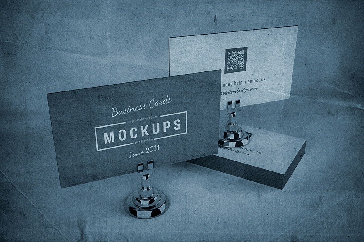 Letterpress business cards mockup on behance reheart Gallery