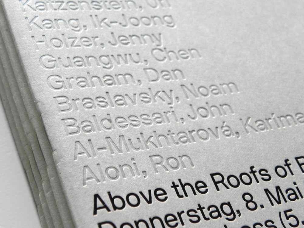 """D Printing Exhibition Berlin : """"above the roofs of berlin exhibition catalogue on"""