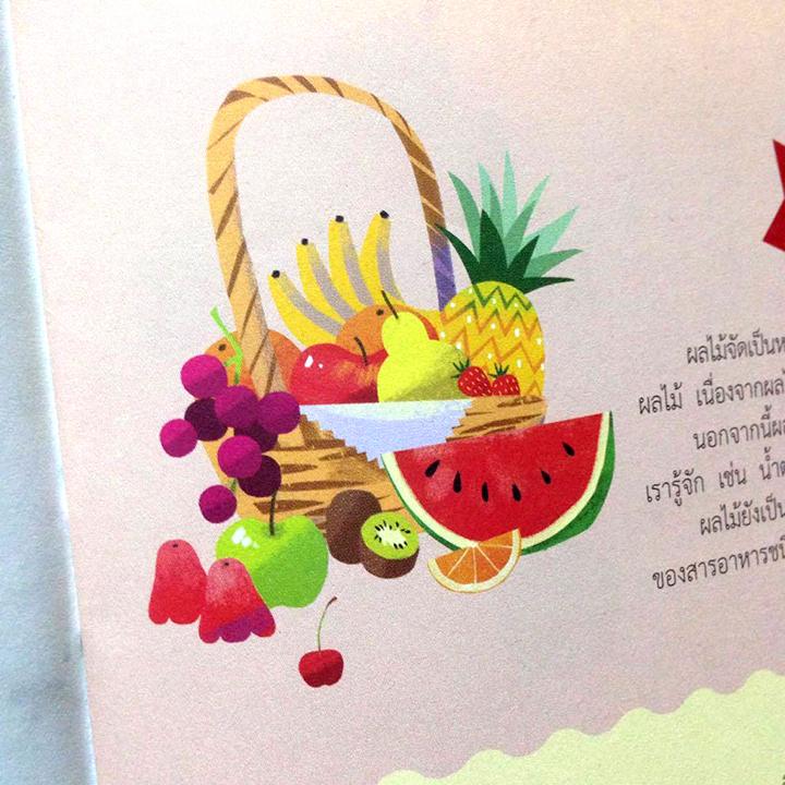 Fruit fruits magazine editorial