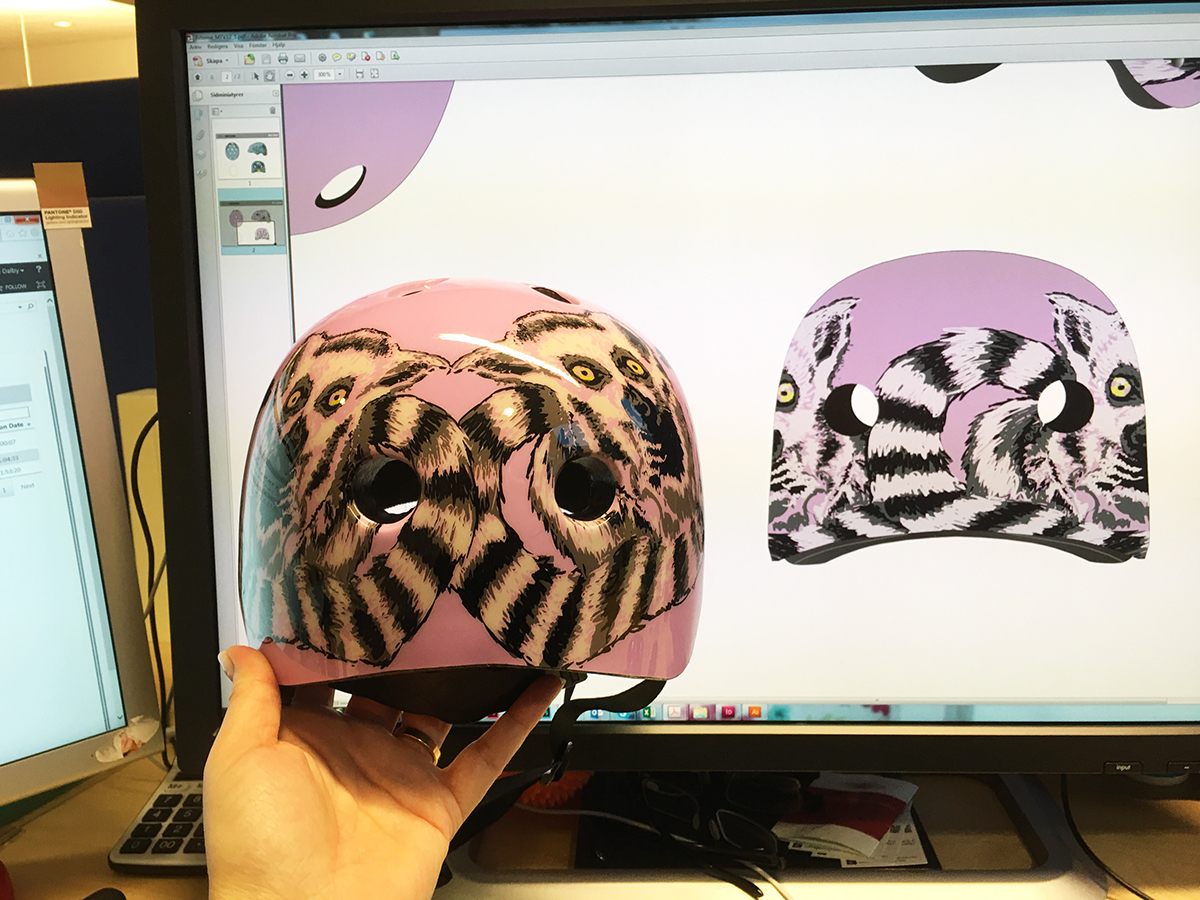 Helmet product design  kid children design
