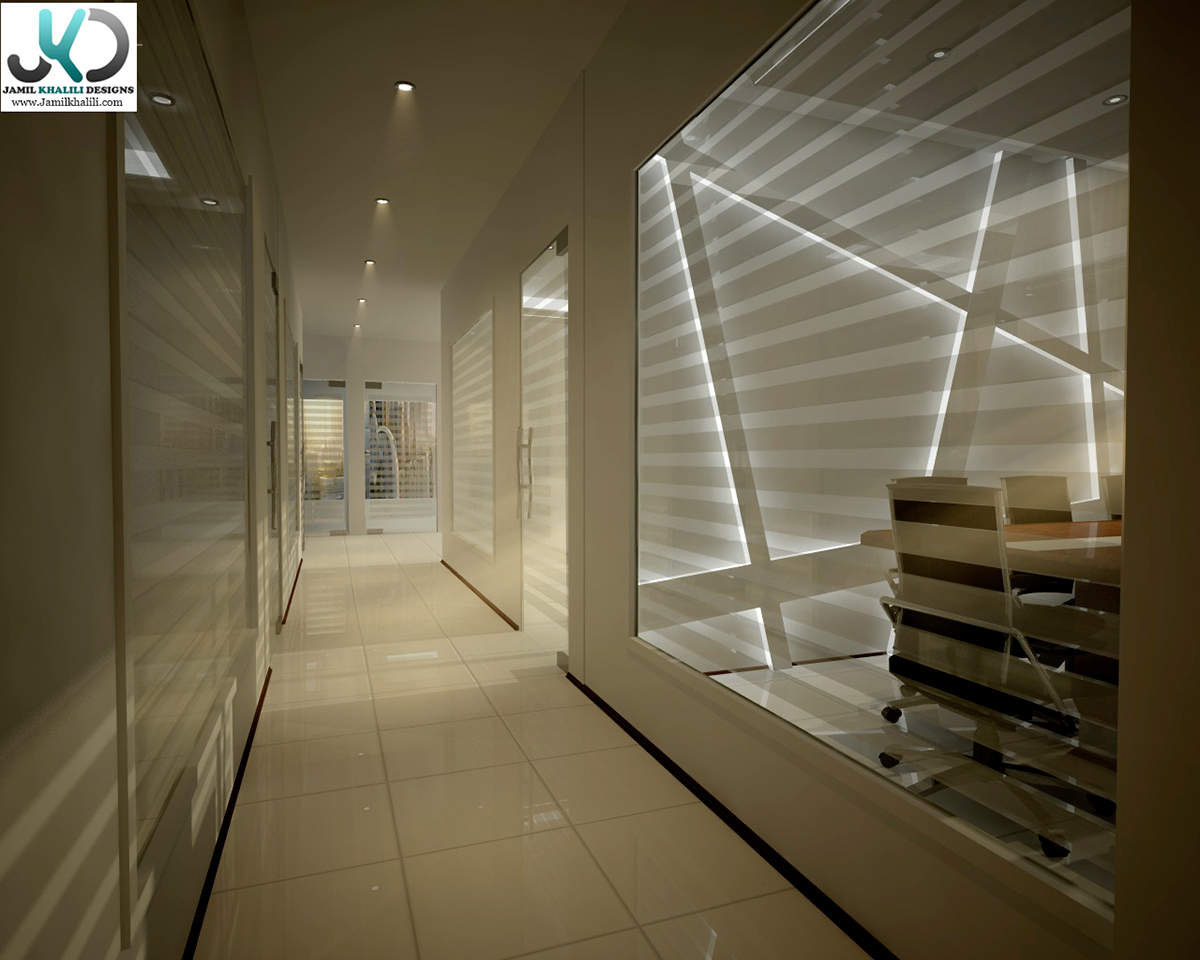 Office design sheikh zaid road dubai uae on behance for Office design uae