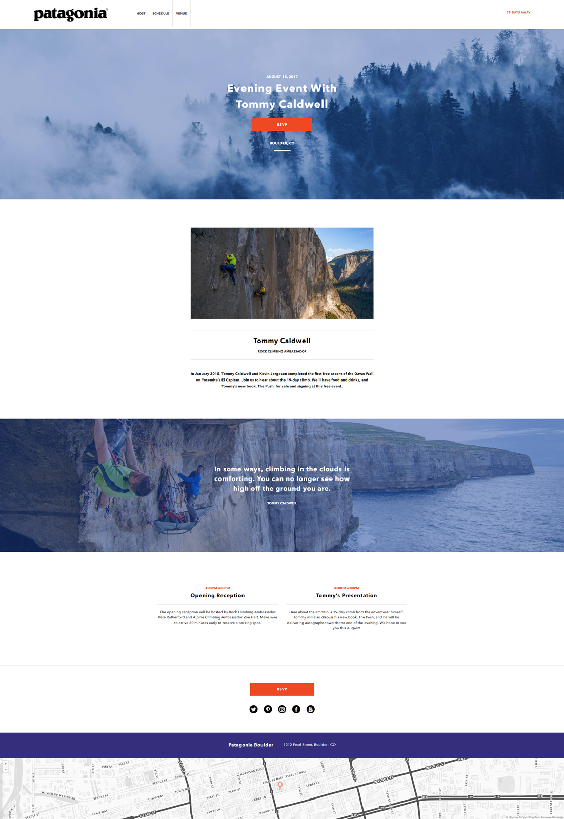Client: Patagonia on Behance