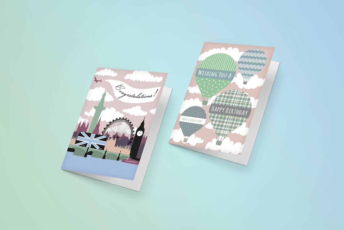 Willow Greetings Greeting Cards On Behance