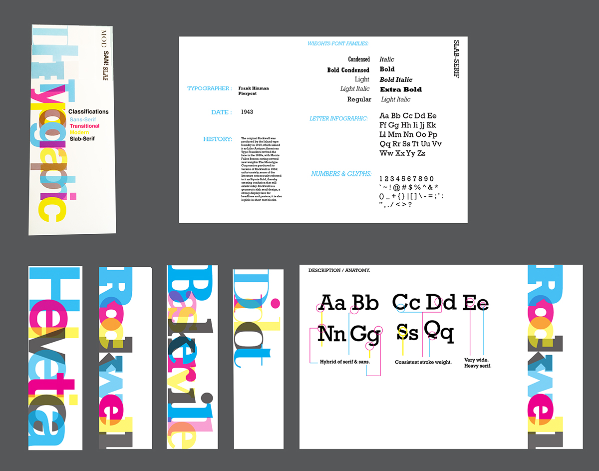 Typogrpahic Brochures On Behance