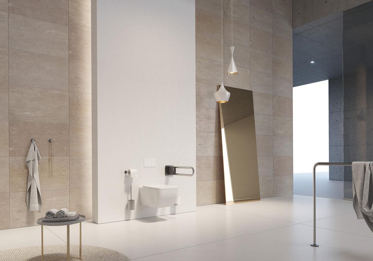 3D Visualization 3D rendering environment concept Interior design