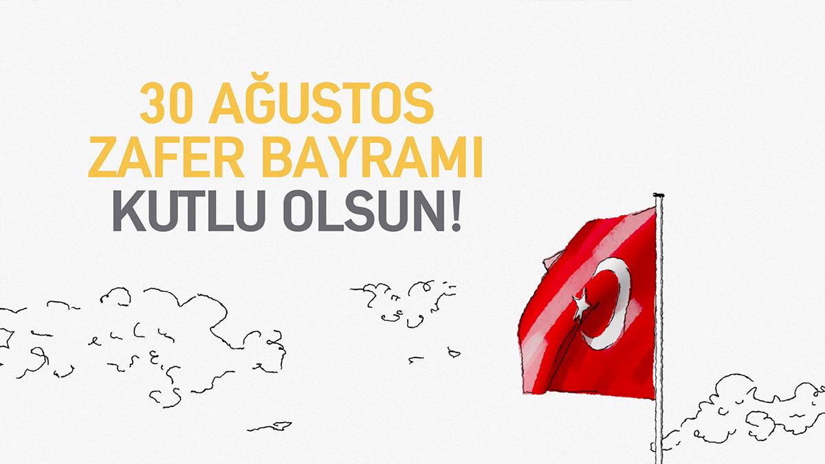 Turkcell ILLUSTRATION  arikovani victory day Digital Art  motion crowdfunding character animation storytelling