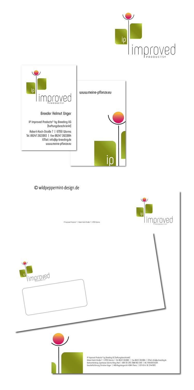 Corporate Design Pflanzenzucht On Behance
