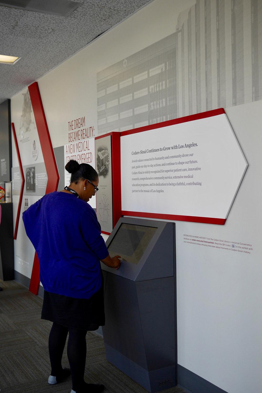 Cedars-Sinai Conservancy Exhibit on Behance