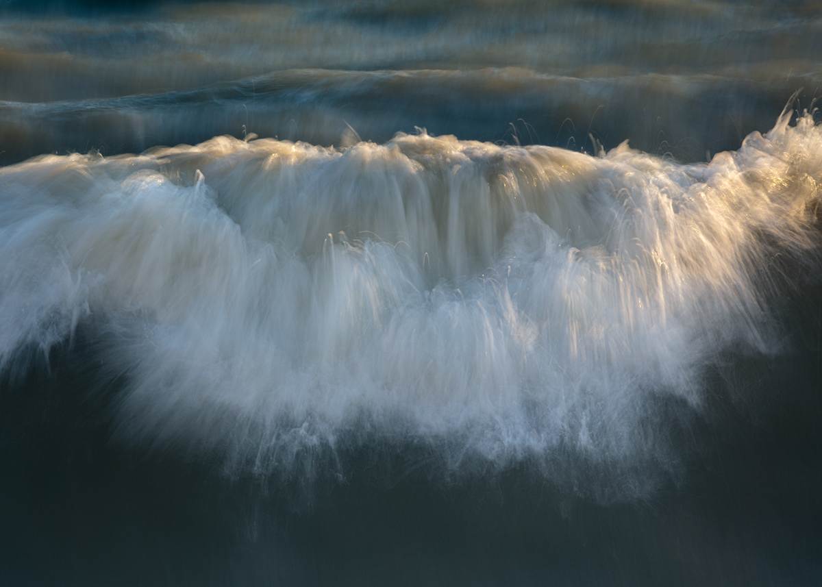 fine art Ocean seascapes slow shutter waves decor painterly Photography  water