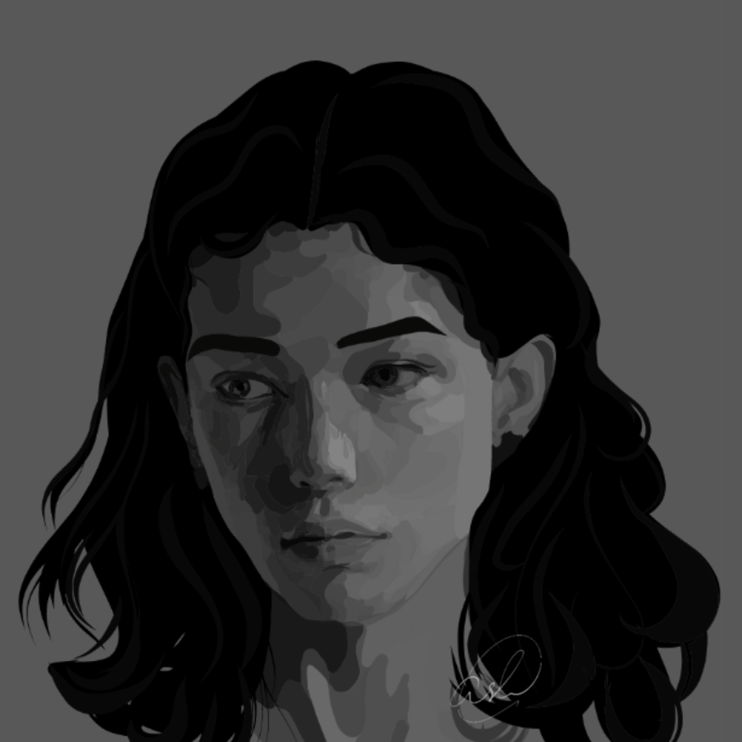 Digital Art ,digital portrait,Illustrator