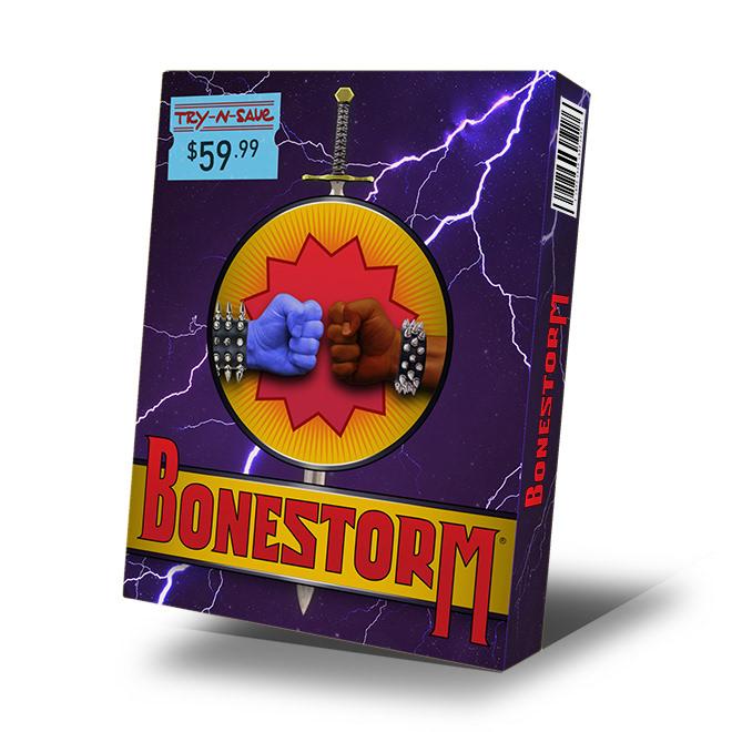 bonestorm simpsons video game