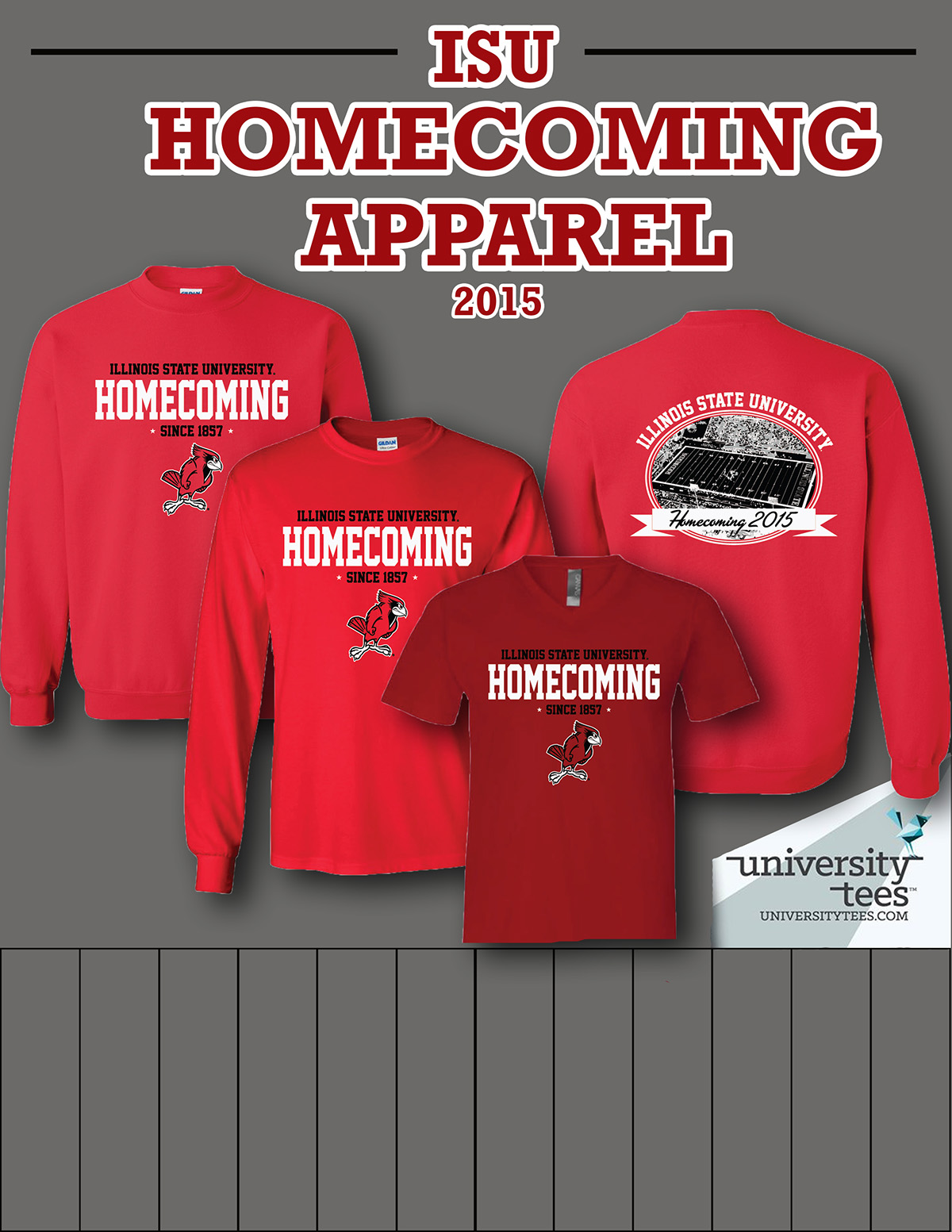 2b1c46a0368 Illinois State Apparel on Behance