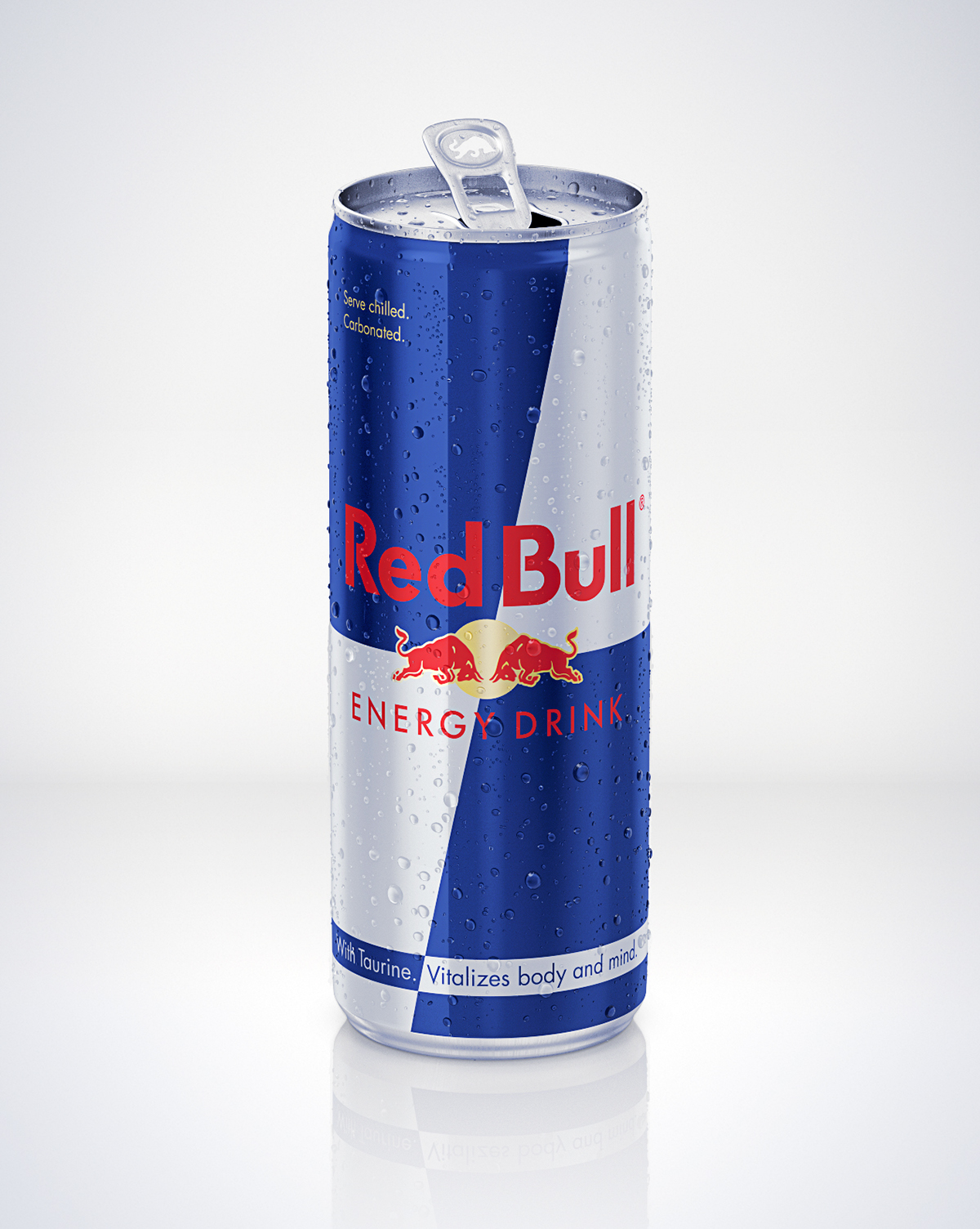 CGI Red Bull Spritz Liquid 3D can vray modelling product drinks